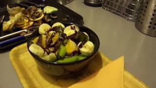 Preparing A Very Tasty Home Made Fruit Salad Final Tutorial