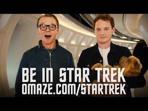 Simon Pegg & Anton Yelchin want to beam you into Star Trek Beyond  Omaze