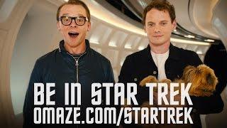 Simon Pegg & Anton Yelchin want to beam you into Star Trek Beyond // Omaze