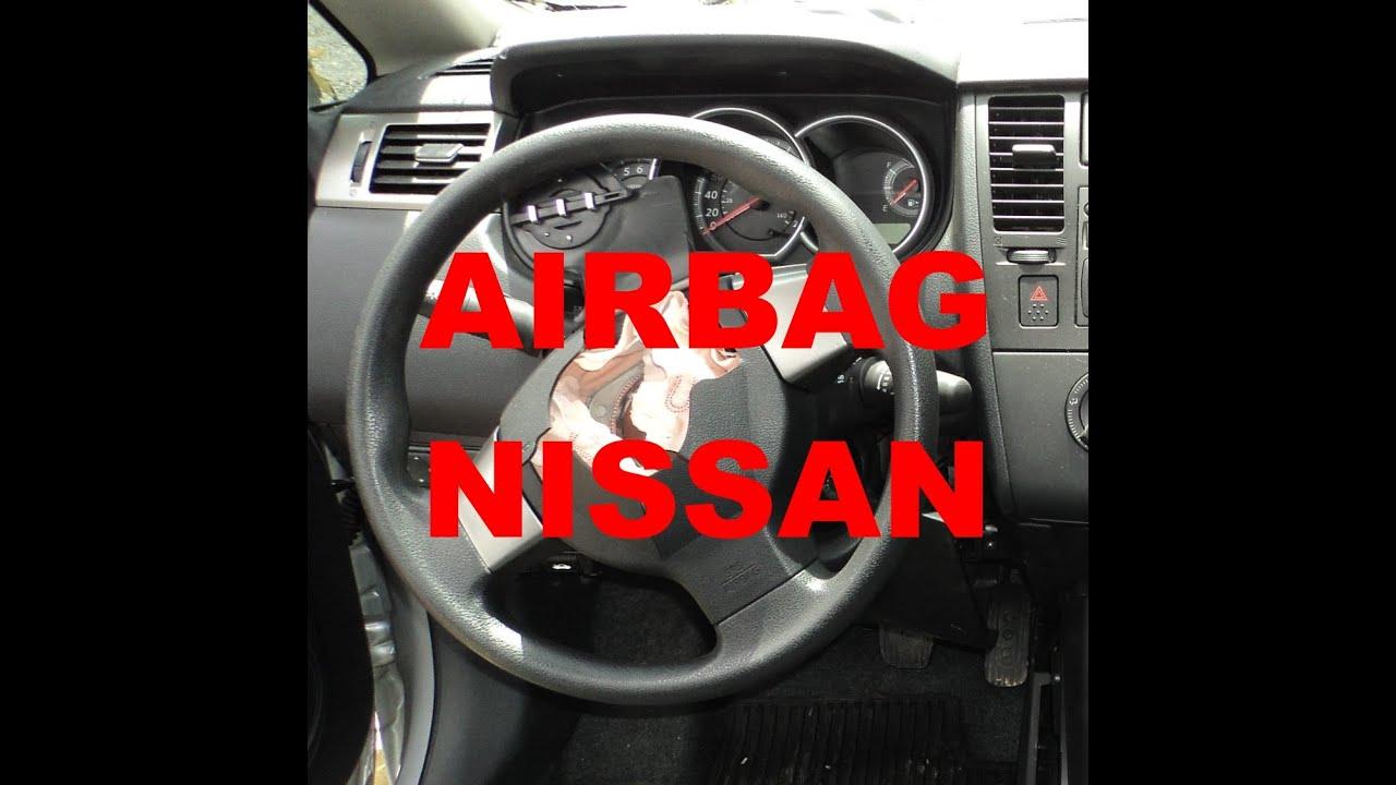 Diagn 243 Stico E Reset Do Sistema De Airbag Nissan Tiida