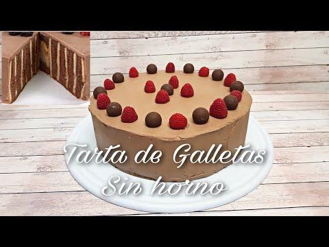 Tarta de Galletas | Tarta Fácil, Sin Horno