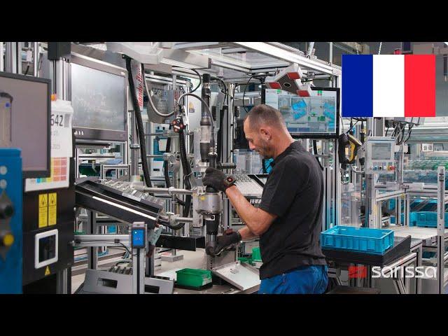 Français - Sarissa en utilisation chez Schwäbische Formdrehteile GmbH & Co. KG in Babenhausen