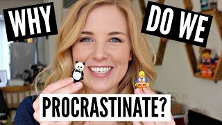 WHY do we PROCRASTINATE?! (explained with LEGO)| Science of Study BONUS VIDEO