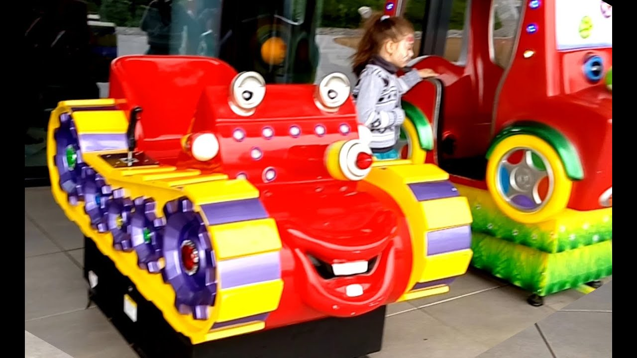 outdoor playground fun for kids with some cars video from kids toys channel