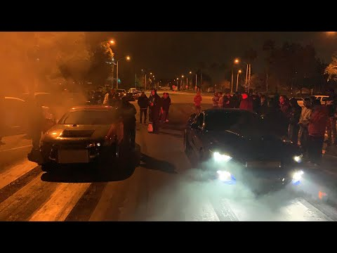 Supercharged Mustang vs Turbo 240 | Street Race 1320
