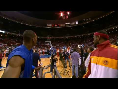 Thumbnail: LeBron James and Dwight Howard Half-Court Contest