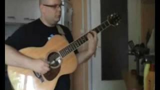 Je me suis fait tout petit (Georges Brassens) - acoustic fingerstyle cover - David van Lochem