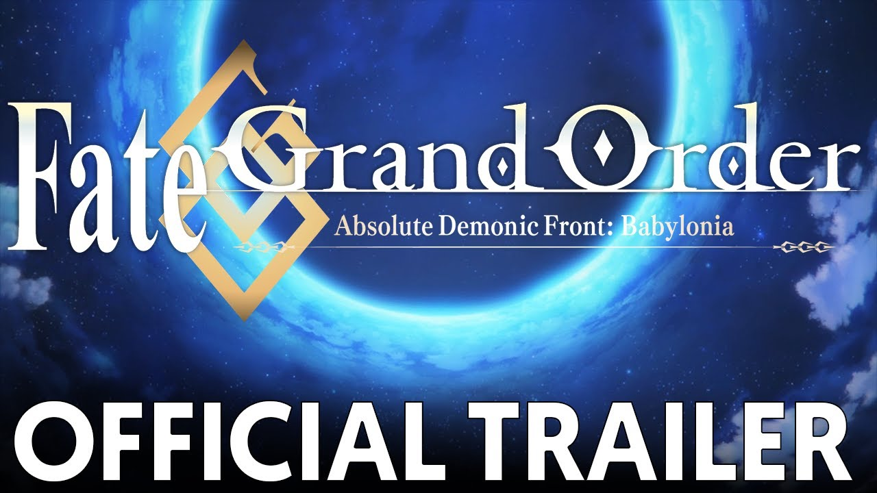 Fate/Grand Order Absolute Demonic Front: Babylonia - Anime streaming in  English sub, in HD and legally on Wakanim tv
