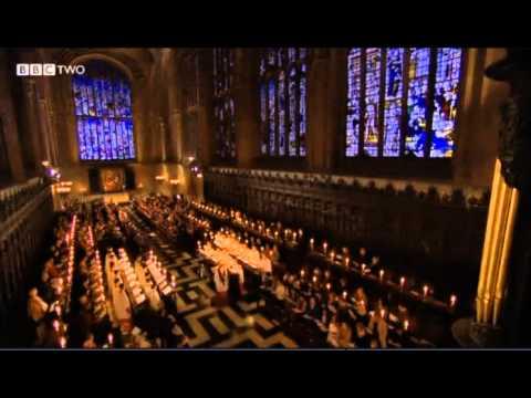 King's College Cambridge 2012 #18 Hark! The Herald Angels Sing descant Philip Ledger 1937-2012