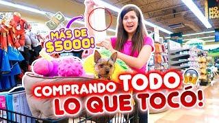 COMPRO TODO LO QUE MI PERRO TOCA EN LA TIENDA💰🐶 GASTE +5000$ 😱 | Leyla Star 💫