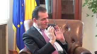 Interviu cu liderul PNL, Ludovic Orban.