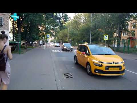 Москва 34 Рабочая улица лето вечер