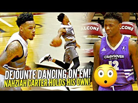 Dejoutne Murray DANCING on The Defense at Seattle's Crawsover! Jay-z's Nephew vs 4 NBA Pros!