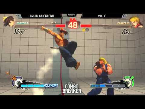 Combo Breaker - USF4 - Liquid NuckleDu (Yang; Guile) vs Mr. C (Ken)