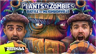 TEAMING UP WITH VIK TO BECOME THE ULTIMATE PLANT! (Plants vs Zombies: Battle For Neighborville)
