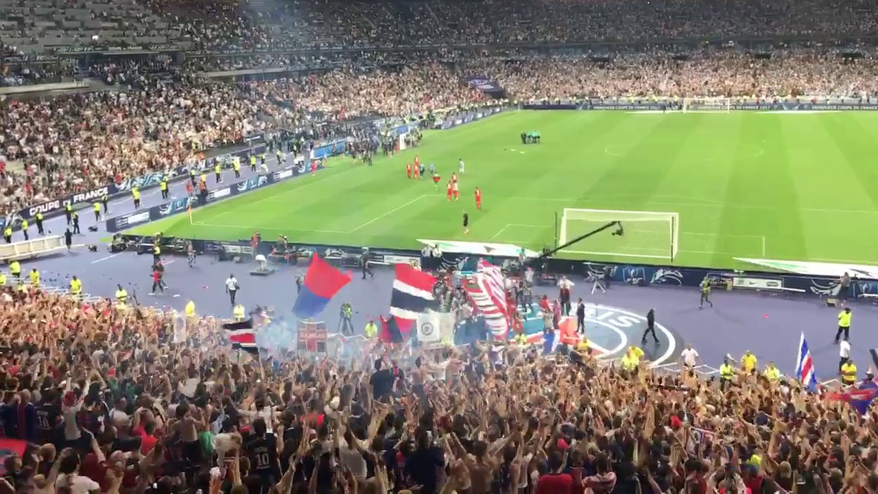 Psg- Angers ultra - YouTube