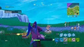 FORTNITE WIZARD SKIN!! HUNTING RIFLE HEADSHOTS!!