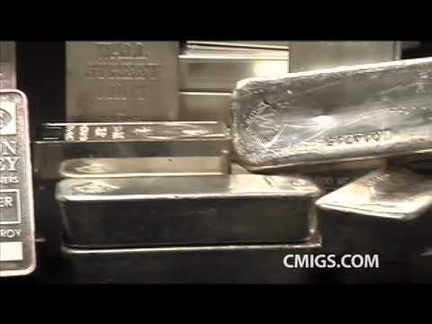 100 oz Silver Bars - Silver bullion Bars