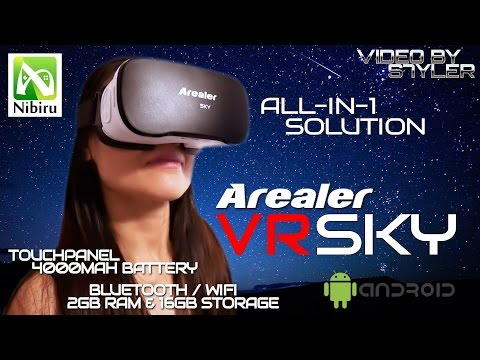 "Best Value for Money All-In-One VR Headset? Arealer VR SKY with 5.5"" FHD 1080p 70Hz, Touchpanel"