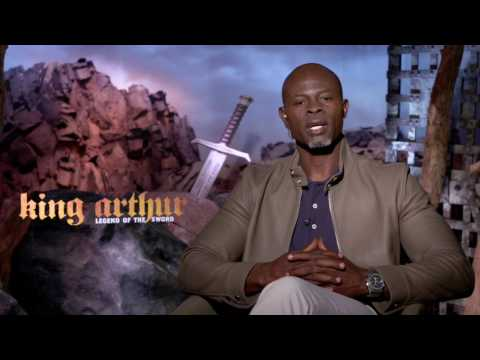 VIDEO: Djimon Hounsou on being homeless