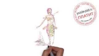 Смотреть как рисовать русалку  Как можно нарисовать русалку поэтапно(как нарисовать русалку, как нарисовать русалку поэтапно, как нарисовать русалку карандашом, как нарисовать..., 2014-07-30T06:51:57.000Z)