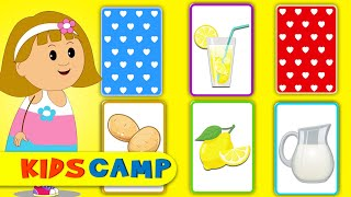 Lemon With Lemonade | Match the Cards | Fun Learning Game For Kids And Toddlers With Elly