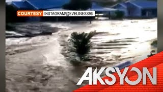 Milagro sa Indonesian flashfloods