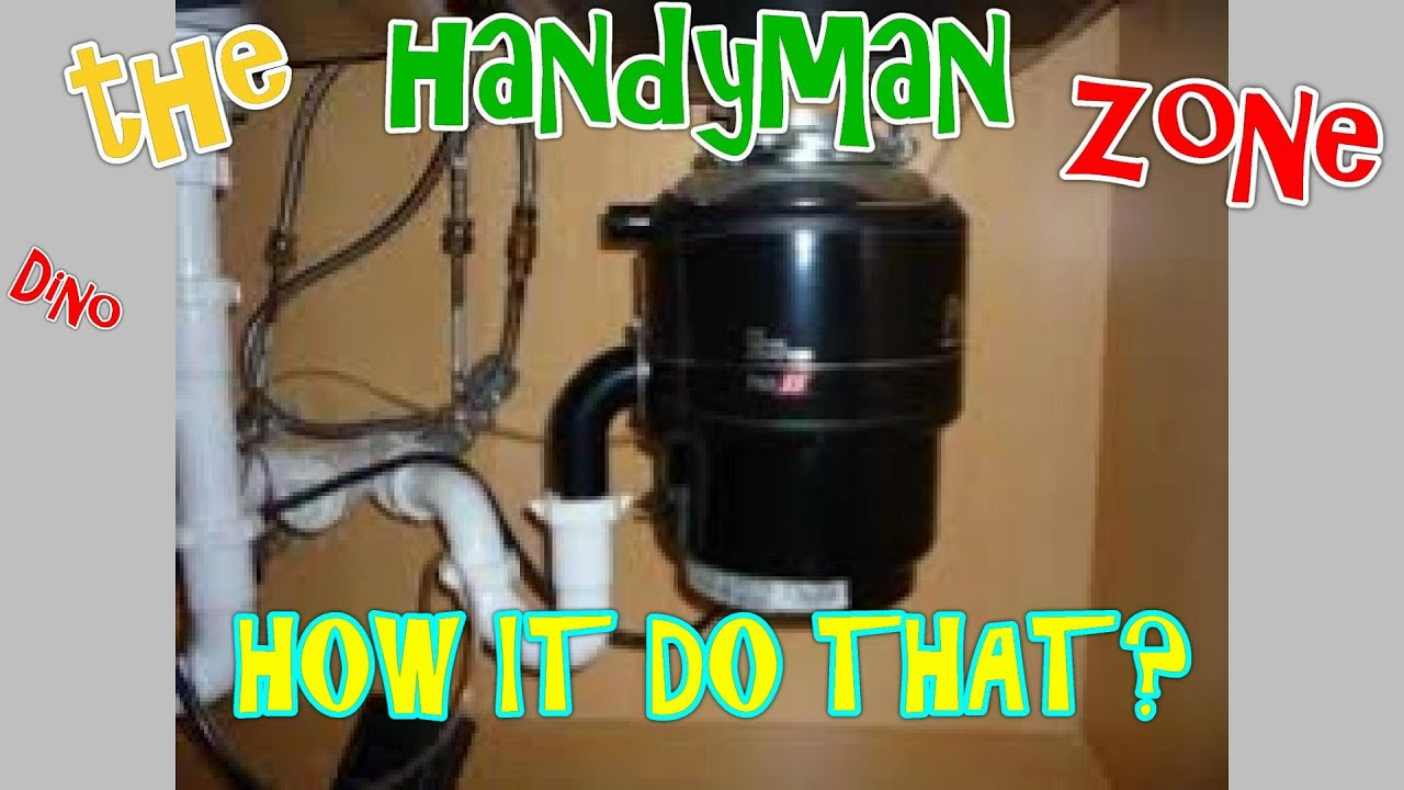 how a garbage disposal unit works and how to fix problems youtube. Black Bedroom Furniture Sets. Home Design Ideas