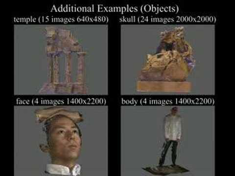 High-Fidelity Image Based Modeling