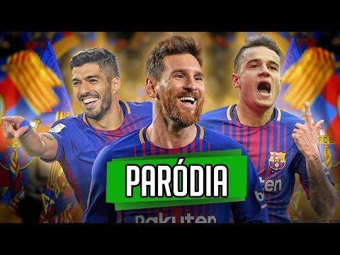 ♫ NOVO TRIO MSC DO BARÇA! (Messi,Suárez,Coutinho) | Paródia Deixe me ir ‹ RALPH +10 ›