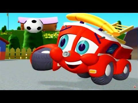 Finley The Fire Engine   Handi-Truckable Truck    Full Episode   Cartoons For Kids