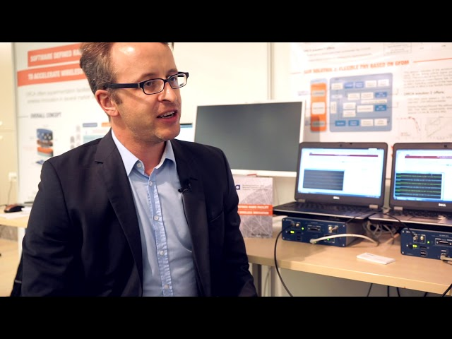 SDR Platform for Prototyping of Real-Time Wireless Networks