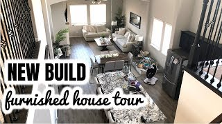 NEW BUILD FURNISHED HOUSE TOUR | Neutral & Classic Interior Design