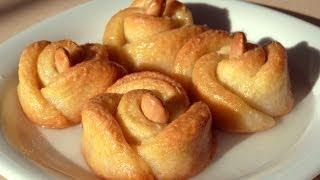 Печенье розочки рецепт - Cладкая выпечка