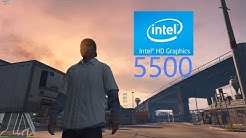 Grand Theft Auto 5 [Intel HD Graphics 5500] [FPS TEST]