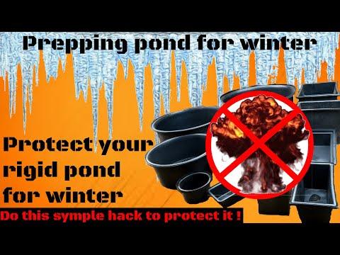 Prepping Pond For Winter + Rigid Pond Hack!