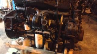 Двигатель Cummins ISM(Запуск двигателя Cummins ISM на сервисе Gruzrazbor +7-915-200-6777., 2013-09-25T12:38:36.000Z)