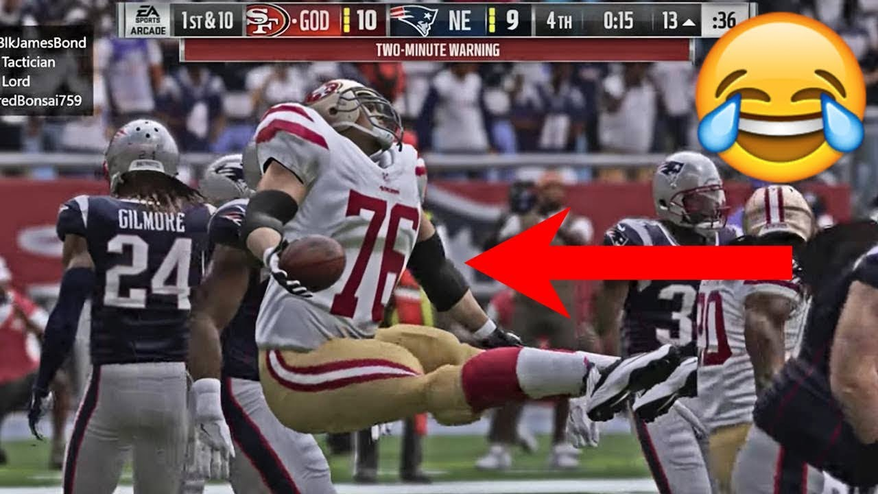 The 10 Funniest Plays From Madden 19