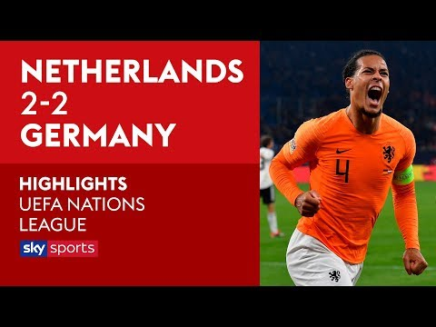 Van Dijk fires Netherlands to Finals | Germany 2-2 Netherlands | Highlights | UEFA Nations League