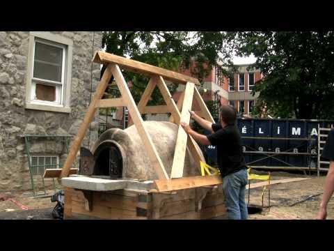 Piec chlebowy budowa pieca doovi for Construction four a pain a bois