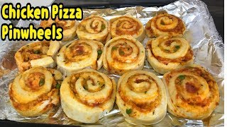 Chicken Pizza Pinwheels Recipe By Yasmin's Cooking
