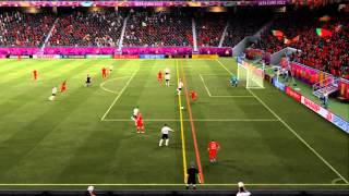 FIFA 12 (UEFA Euro 2012): 09.06 - Сим. матча