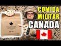 Probando COMIDA DE SUPERVIVENCIA MILITAR de CANADA