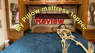 my pillow mattress topper review youtube