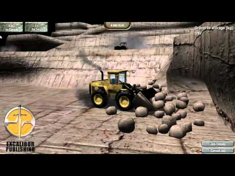 Stone Quarry Simulator by Excalibur Publishing - Official PC Trailer [HD]