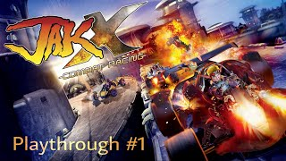Jak X Combat Racing (PS4) Playthrough - Part 1 | HD
