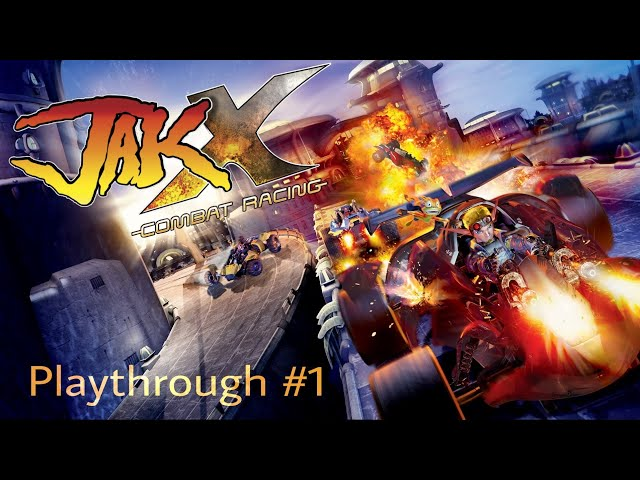 Jak X Combat Racing (PS4) Playthrough - Part 1   HD