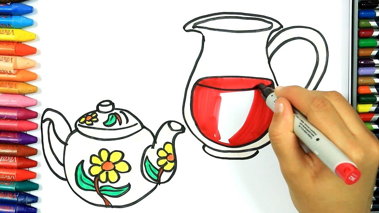 Dibujos Para Dibujar Dibujos Para Pintar Dibujos Para Colorear Cómo Dibujar Jarra