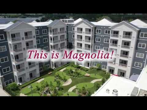 Magnolia by the Lakes - Drone video