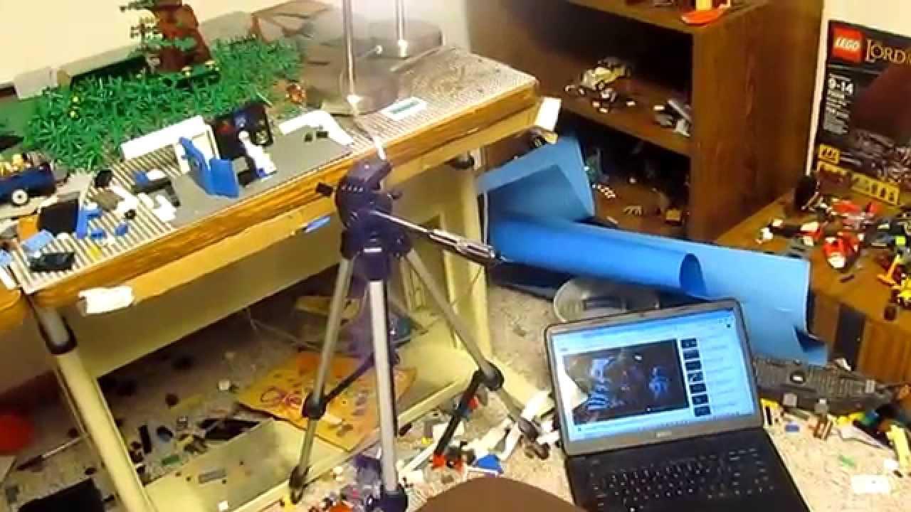 BEHIND-THE-SCENES:  Lego Interstellar Trailer